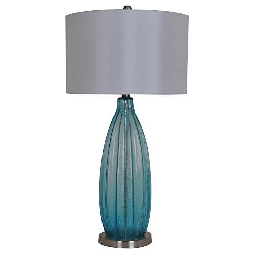 Crestview Collection Hawthorne Glass Table Lamp from Crestview Collection