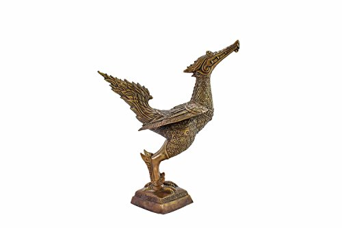 Bronze Swan Statue Or Hong In Thai Handcrafted From Northern Thailand, Chiangmai. by Siam Sawadee (Image #2)