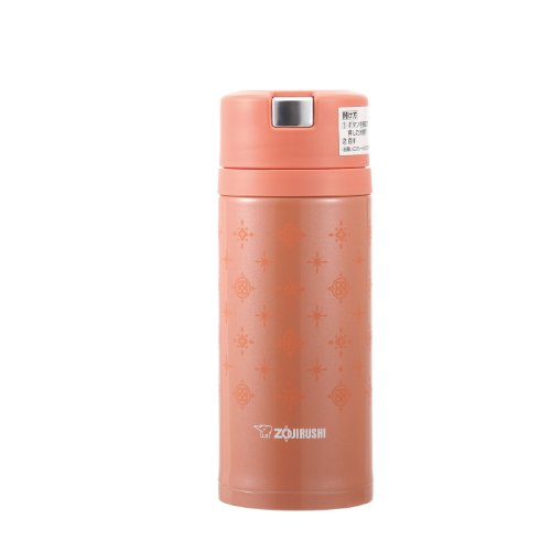 ZOJIRUSHI new idea Quick & Easy open lock stainless steel mug [360ml] Orange SM-XA36-DB