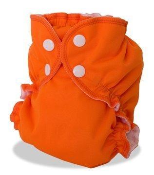 Apple Cheeks Envelope Cloth Diaper Cover, Orange You Glad