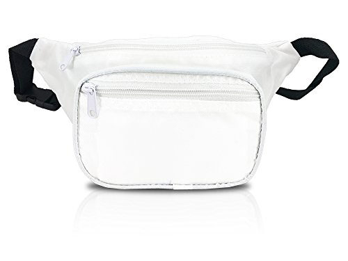Sporty Fanny Pack - Multiple Colors Available (White)