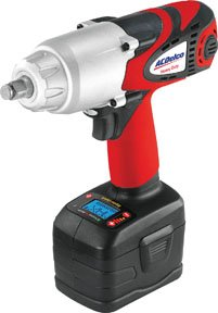 ACDelco ARI2060 Li-ion 18V 1/2-inch  Super-Torque Impact Wrench with Digital Clutch, 500 ft-lbs, 2 battery included, ETC Tool