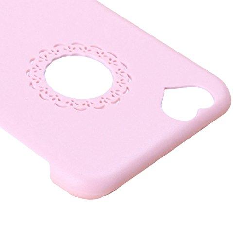Smart smart protectors !-coque de protection pour apple iPhone 6 plus rose & 6S en plus forme de coeur