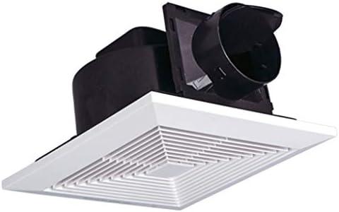 Extractor de aire QIQIDEDIAN Extractor 20x20 Escape de baño Tubo de ventilación Colgando de Techo Tipo de Inodoro doméstico: Amazon.es: Hogar