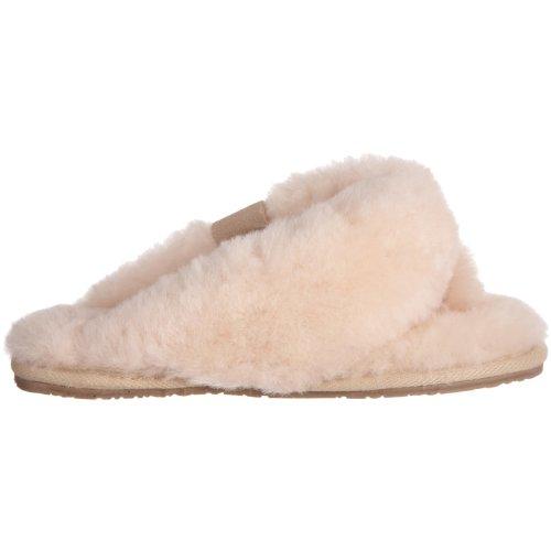 Emu Para De Zapatillas elfenbein Tova W10105 Beige Ante Casa Mujer 4Hxwq4ap