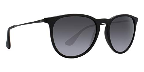 Ray-Ban RB4171 Erika Sunglasses Matte Black w/Grey Gradient (622/8G) 4171 6228G 54mm Authentic (Erika Ray-ban)