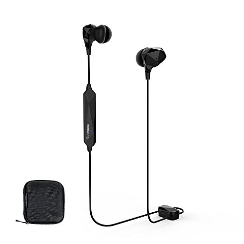 Active Noise Cancelling Earbuds , Meidong Bluetooth Headphones Wireless  Ear buds In-ear Stereo Sports Earphones with Built-in Mic( ANC/Denoising Mode 10h/OTG Magnetic Charging)
