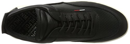 Tommy Hilfiger T2385yke 1a, Zapatillas para Hombre Negro (Black 990)