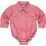 Levi's Girls' Toddler Denim Shorty Shorts, Electric Wave, 4T