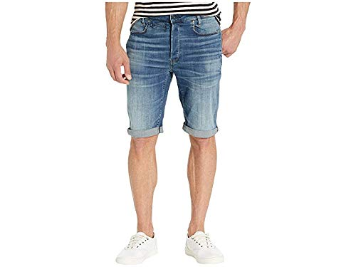G-Star Men's D-STAQ 3D Shorts Worn in Aged 36 11