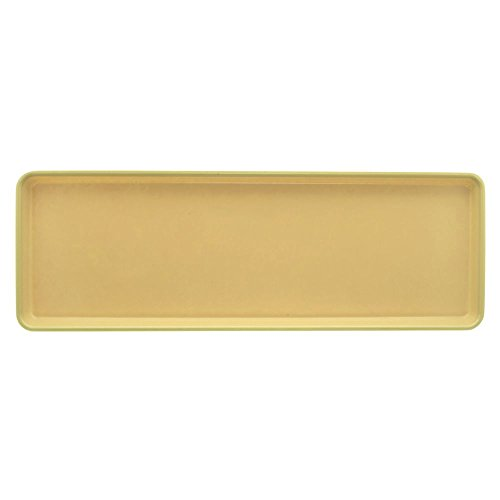 (Market Tray Beige Fiberglass Bakery Display Tray - 26