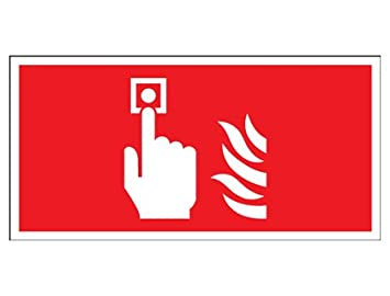 Foto luminescentphoto luminiscente alarma contra incendios ...