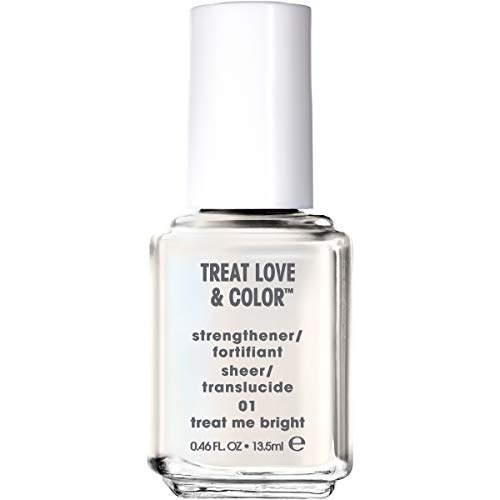 essie Treat Love & Color Nail Polish For Normal to Dry/Brittle Nails, Treat Me Bright, 0.46 fl. - Essie Color