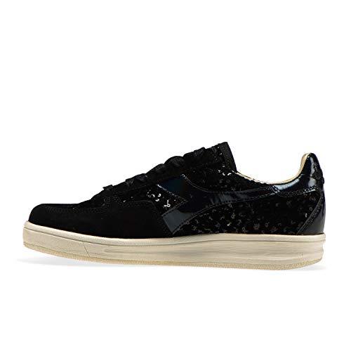 Mujer B Heritage Para C0200 Sneakers elite Negro W Diadora black YvqBRww
