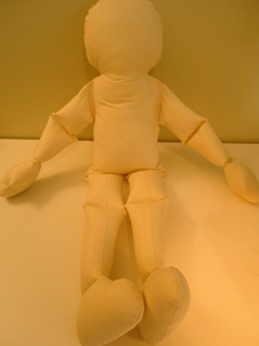 Muslin Doll Big Bendy Baby Toddler Body-rag doll form-Jointed Therapy (Rag Doll Craft)