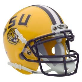 Louisiana State Tigers Authentic Mini Helmet - Lsu Helmet Decal