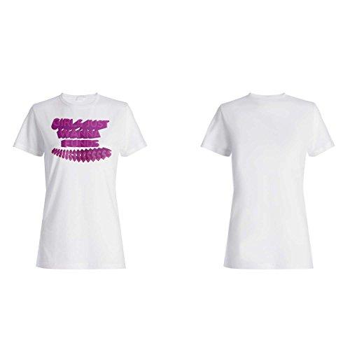 Las muchachas apenas quieren fondo regalo divertido de la novedad camiseta de las mujeres e58f