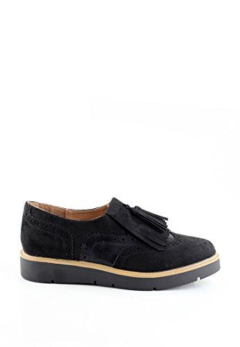 London Rag Women's Black Oxford Boots