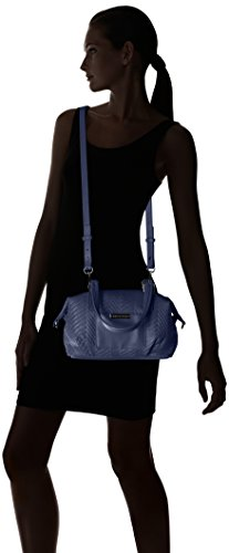 Bag Navy PU Armani Mini A Quilted Exchange X Duffle fwwxv8P