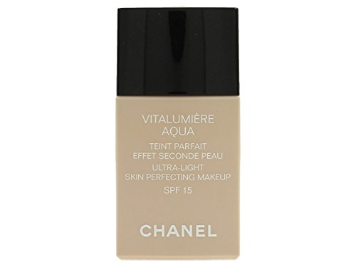 Chanel Vitalumiere Aqua Ultra Light Skin Perfecting Make Up SFP 15 - # 22 Beige Rose - (Chanel Cosmetics)