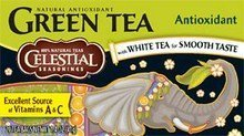 - Celestial Seasonings Antioxidant Supplement Green Tea Bags, 20 ct, 3 pk