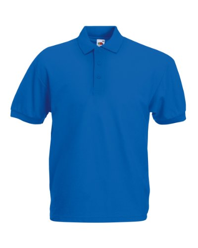 Of Ss025 blu nbsp;m The Per Marino Uomo Polo Blu Loom Fruit Odt4q4