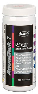 Swimming Pool Test Kits (AquaChek 551236 7-Way 100 Count Pool Water Test Strips)