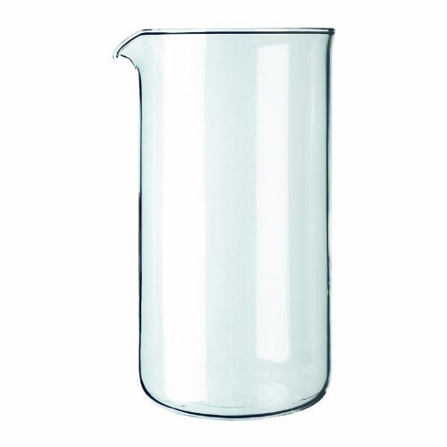 BODUM Coffee Press Replacement Beaker, Glass - 3-Cup, Transparent