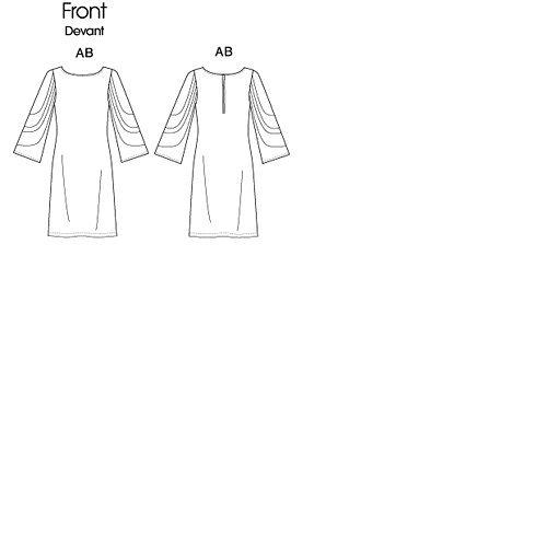 Robe jeune femme: - modèle F5 (16-18 - 20 - 22 - 24)