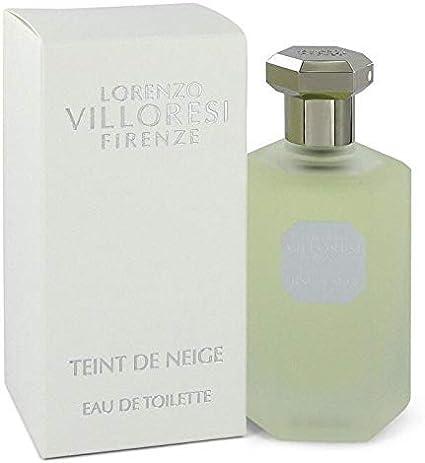 Agua de colonia Lorenzo Villoresi Teint de Neige EDT, vaporizador 100 ml, pack de 1 unidad: Amazon.es: Belleza
