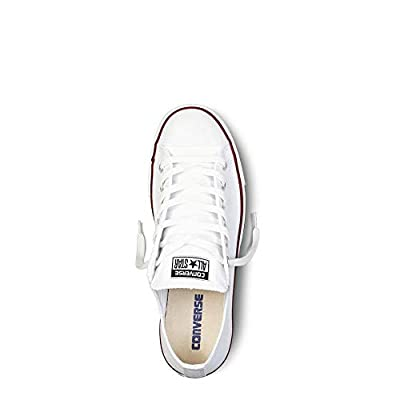 Converse Unisex Chuck Taylor All Star Low Basketball Shoe (13 B(M) US Women/11 D(M) US Men, Optical White)