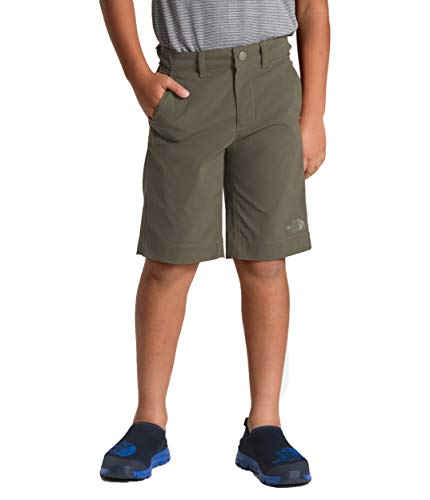 The North Face Kids Boy's Spur Trail Shorts (Little Kids/Big Kids) New Taupe Green Large ()