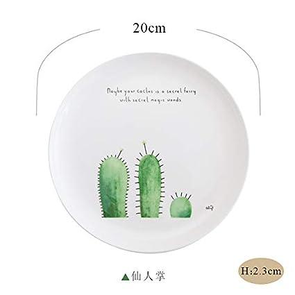 Piatti In Ceramica Per Bambini.Yuwanw Household Bistecca Occidentale Piatto Di Ceramica Da