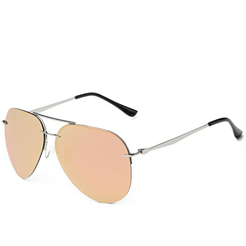 A-Roval Women Polarized Round Fashion Metal Sunglasses-Light - Polarisation In Sunglasses