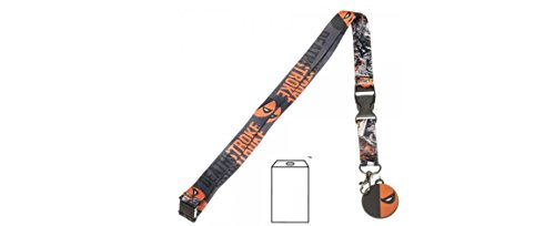 Justice League Deathstroke Lanyard with Charm and ID