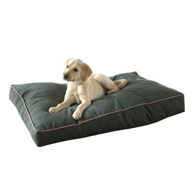 Cheap Jamison Indoor & Outdoor Faux Gusset Dog Bed (42 in. L x 30 in. W – Hunter Green)