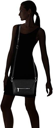 Negro 1522 Black Black Bolso de Borse hombro Mujer Chicca TpBqvv
