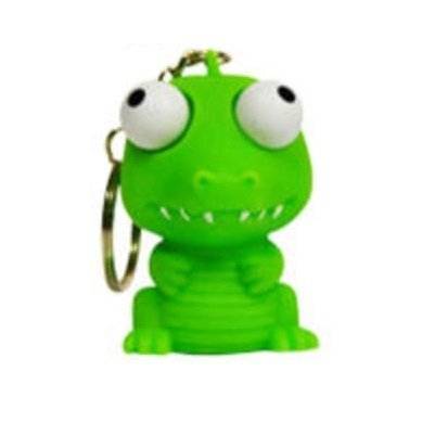 Cute Squishies Key Chain * Animal Eye Popper (DRAGON)