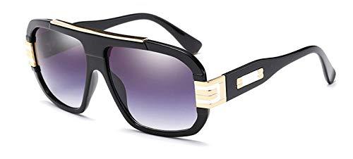 Black Hombre Vintage para Bright de Degradado Vizink con Mujer de y Sol Black Bright Estilo Gafas Puntos UqCw6xTCA