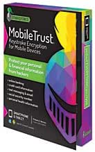 StrikeForce Technologies MobileTrust(R) Keystroke Encryption Software, For 2 Devices, 1-Year Subscription, For Android/iOS, Download
