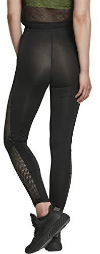 Urban Classics Ladies Mesh Side Stripe Leggings Femme
