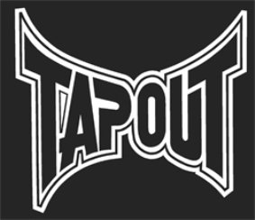 Tapout Sticker (Decal) - 6""