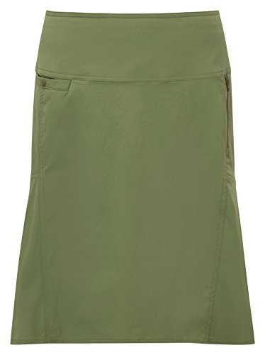 Royal Robbins Women's Discovery Strider Skirt, Aloe, Size 8