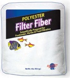 Polyester Filter Fiber 4 Oz Bag ()
