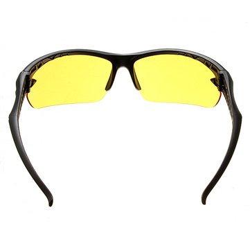 Tourwin Vision de nuit UV400Conduite d'équitation Lunettes de soleil Glassess Verres jaunes ZaSrMC