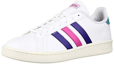 adidas Womens DBH61 Grand Court White Size: 5