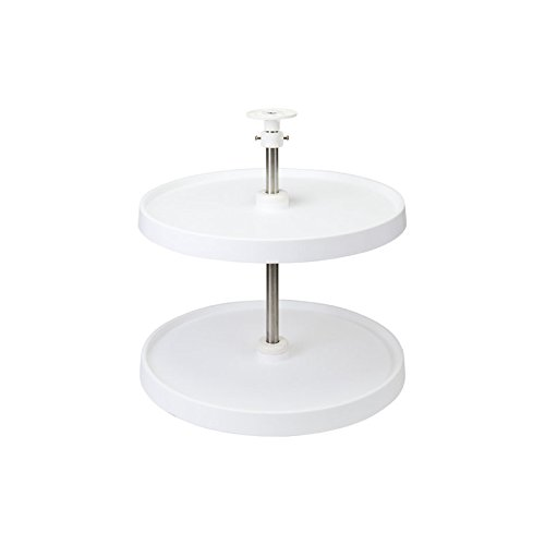 Hardware Resources Round Plastic Lazy Susan Set by Hardware Resources