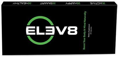 ELEV8 Dietary Supplement BEpic Energy Pill with Cordyceps, Chaga, Gano, Rhodiola Rose and More 30 Capsules