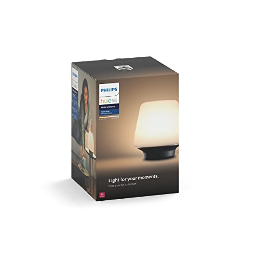 Philips Hue White Ambiance Wellness Dimmable LED Smart Table Lamp  (Large Image)