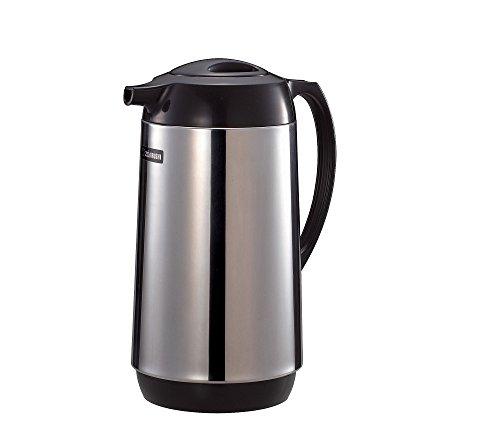 老美冬天喝冰水咱可学不来!Zojirushi 不锈钢保温咖啡壶/热水壶